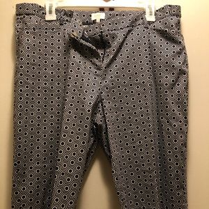 Laundry By Shelli Segal Shorts - Laundry Navy Pattern Short  with Top Set Size 12